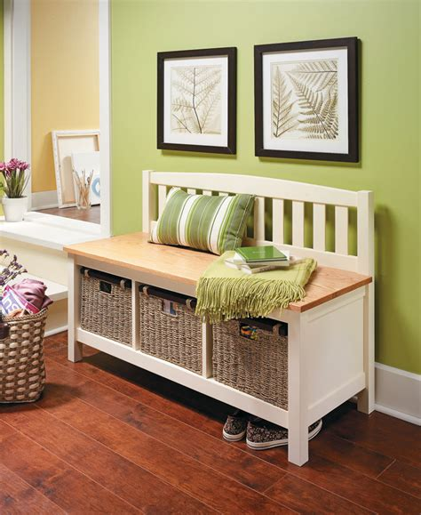 Woodworking Plans Mudroom Bed Bench Furniture