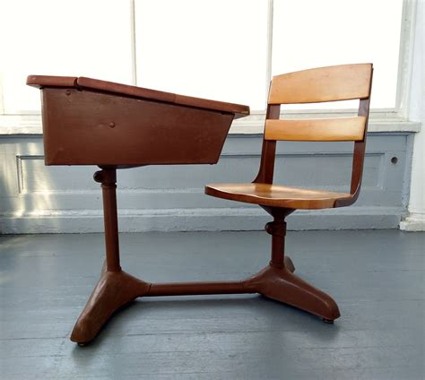 Woodworking Plans Old School Desk