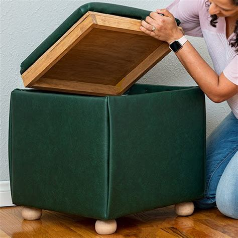 Woodworking Plans Ottoman Storage Cube