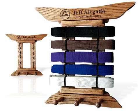 Woodworking Plans Personalized Martial Arts Belt Rack
