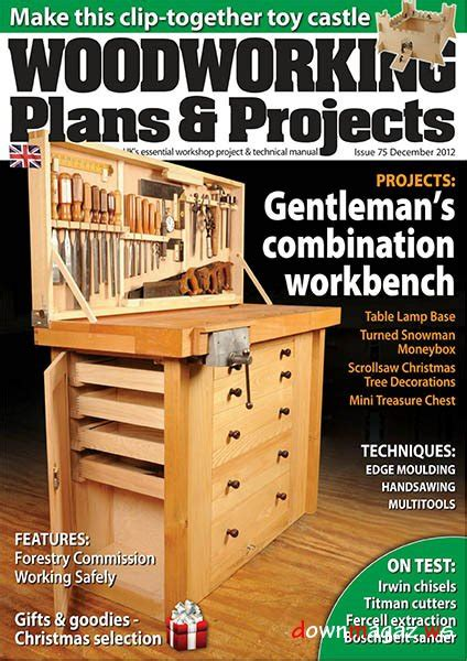 Woodworking Plans Projects October December 2012