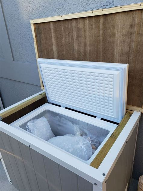 Woodworking Plans Small Chest Freezers