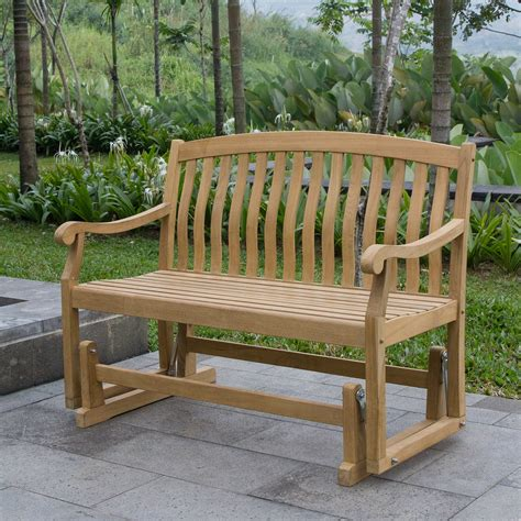 Woodworking Plans Teak Glider Bench