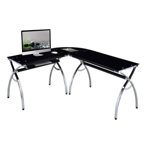 Woodworking Plans Techni Mobili Tempered Glass L Desk