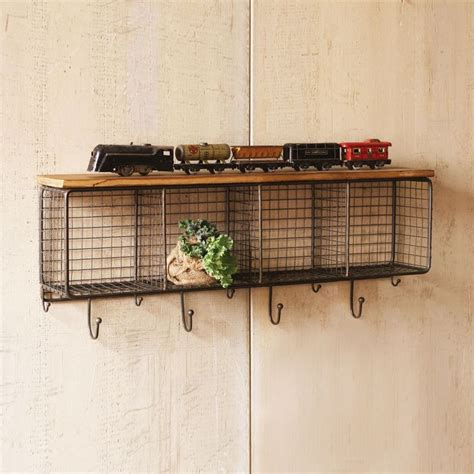 Woodworking Plans Wire Cubby Shelf