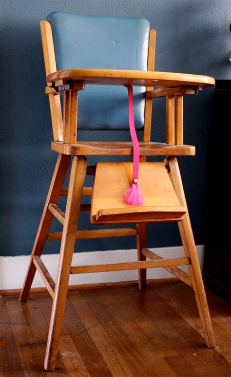 Woodworking Plans Wooden Baby High Chair