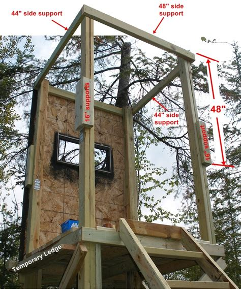 Woodworking Portable Free Box Deer Stand Plans