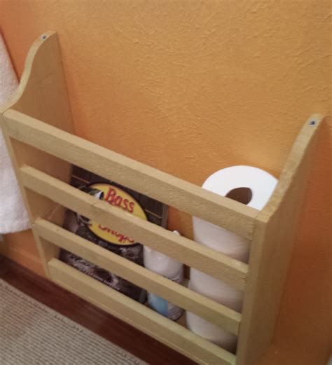 Woodworking Projects Bathroom Magazine Rack