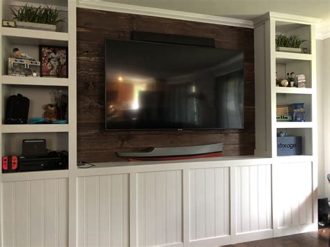 Woodworking Projects Custom Built In Entertainment
