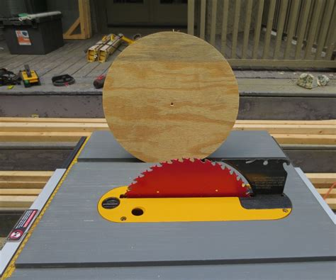 Woodworking Projects How To Cut A Circle With A Table Saw