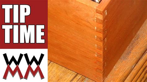 Woodworking Projects Make A Box Joint Woodworking Without A