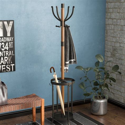 Woodworking Projects Metal Free Standing Coat Racks