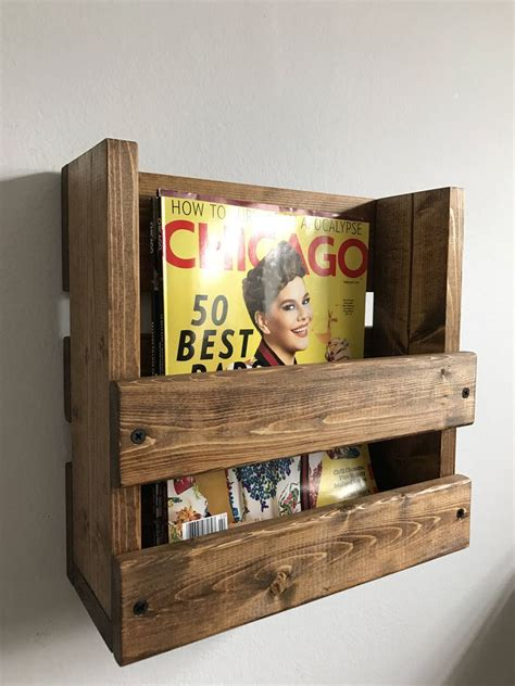 Woodworking Projects Wooden Magazine Racks For Home Use