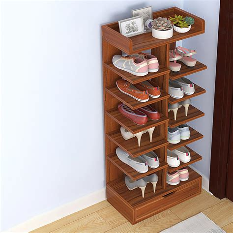 Woodworking Shoe Storage Racks