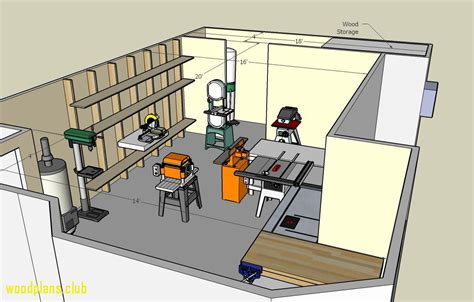 Woodworking Shop Floor Layouts