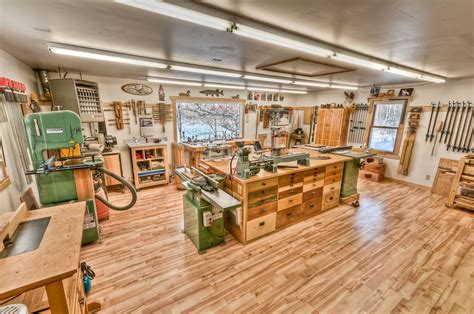 Woodworking Shop Layout Plans For Garages