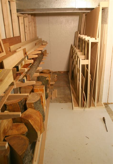 Woodworking Shop Plywood Storage