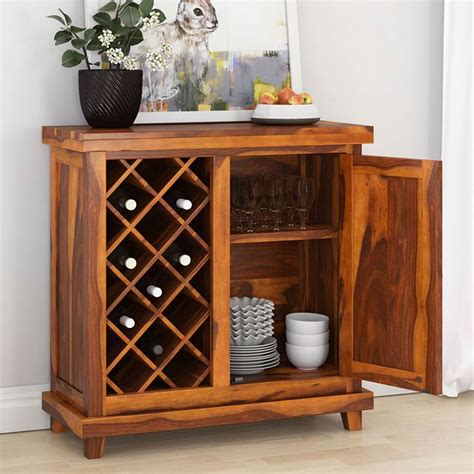 Woodworking Solid Wood Wine Cabinets