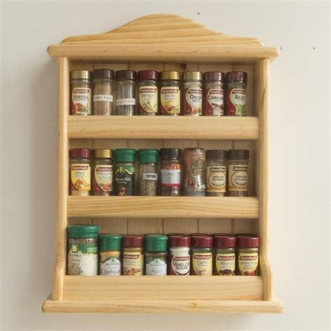 Woodworking Spice Racks