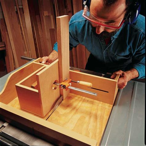Woodworking Tenoning Jigs