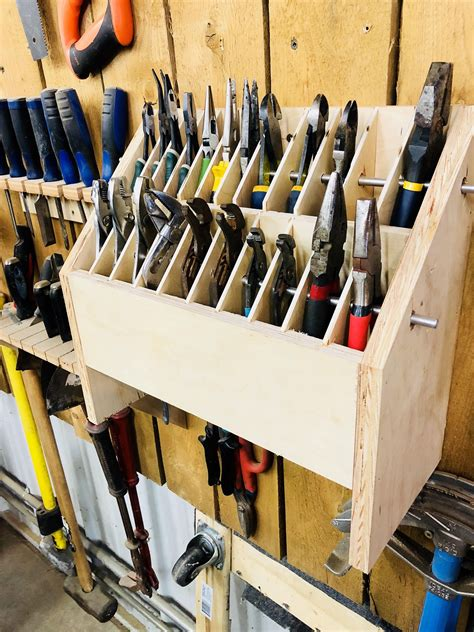 Woodworking Tool Storage Plans