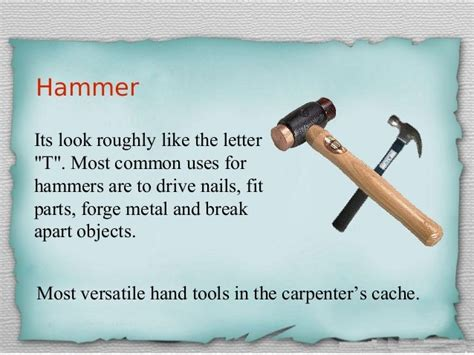 Woodworking Tools And Their Functions