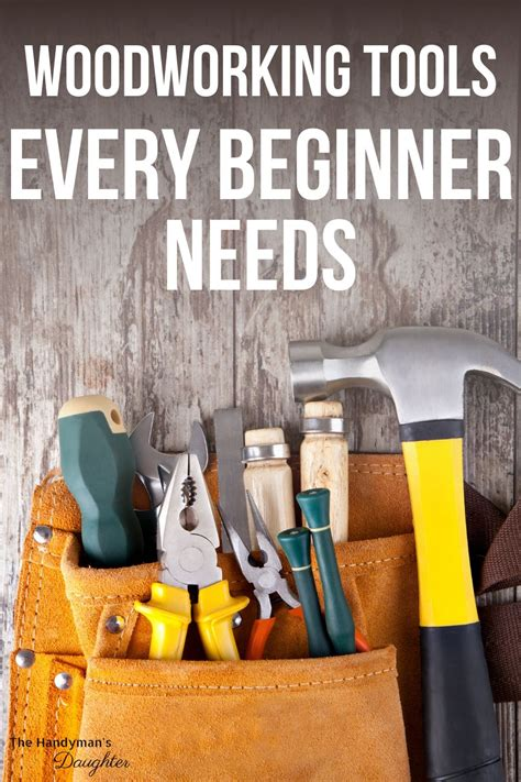 Woodworking Tools List For Beginners