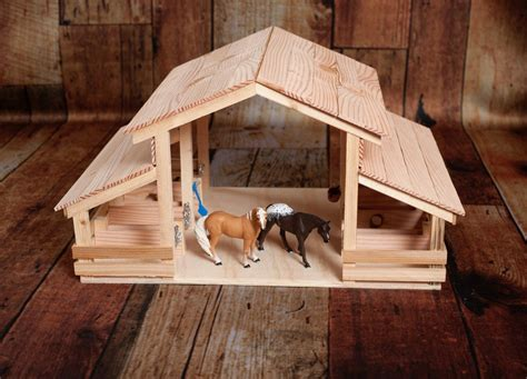 Woodworking Toy Barn