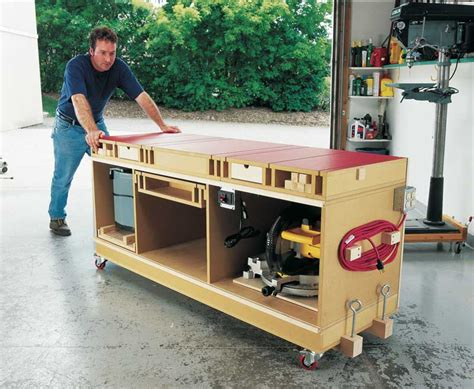 Woodworking Ultimate Power Tool Stand Plans