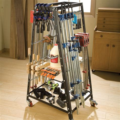 Woodworking Vise Racking System
