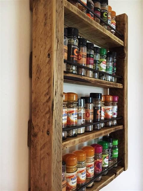 Woodworking Wall Hanging Spice Racks