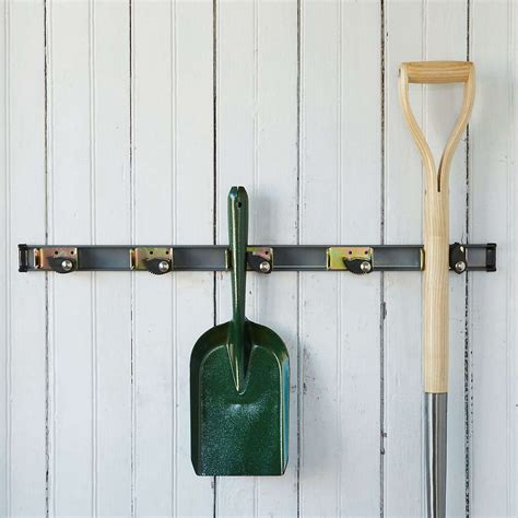 Woodworking Wall Mount Garden Tool Racks
