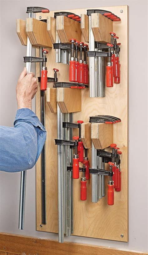 Woodworking Woodcraft Free Bar Clamp Rack Plans