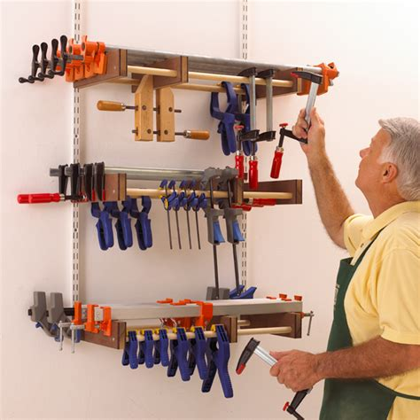Woodworking Woodcraft Free Free Clamp Rack Plans