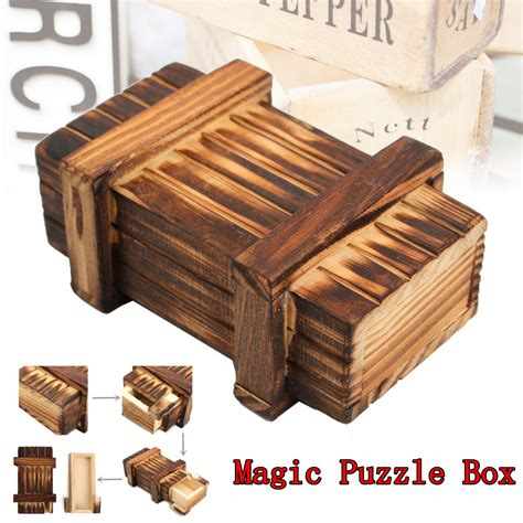 Woodworking puzzle box Image