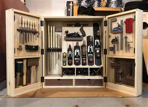 Woodworking tool cabinet Image