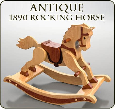 Woodworking Pattern For Rocking Horse Image