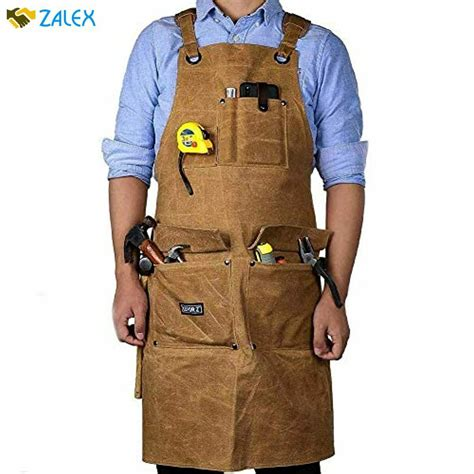 Woodworking-Aprons-With-Pockets
