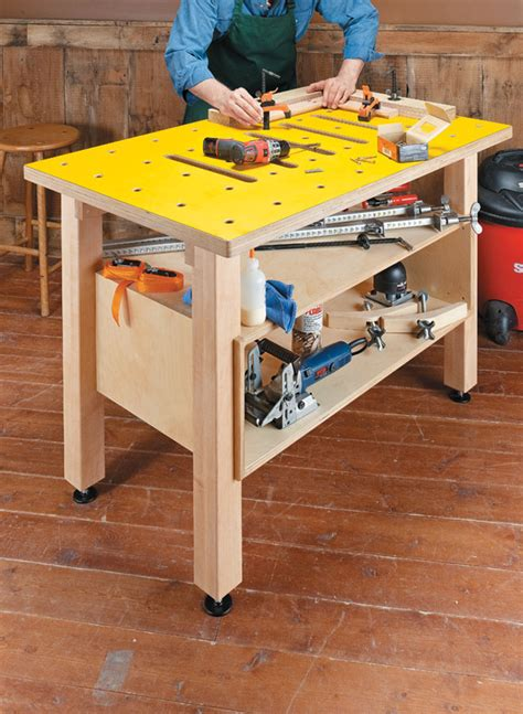 Woodworking-Assembly-Table-Plans