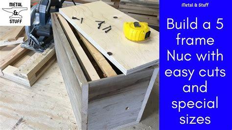Woodworking-Bee-Nuc-Plans