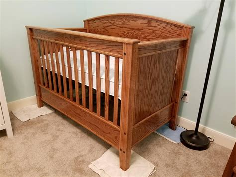 Woodworking-Craftsman-Baby-Crib-Plans