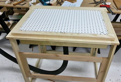 Woodworking-Downdraft-Table