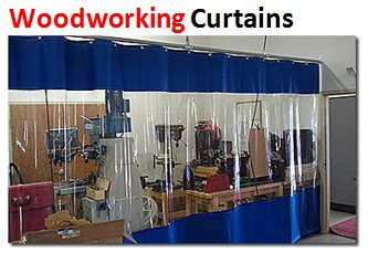 Woodworking-Dust-Curtain