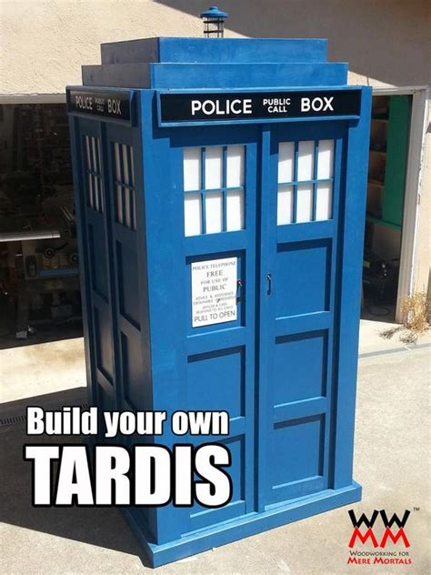 Woodworking-For-Mere-Mortals-Tardis