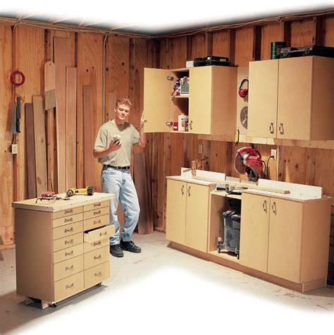 Woodworking-Garage-Cabinets