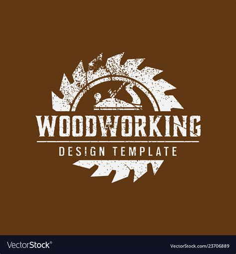 Woodworking-Logo-Template