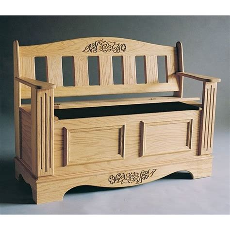 Woodworking-Plan-For-Bench-Chest