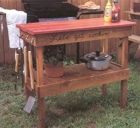 Woodworking-Plans-Bbq-Table
