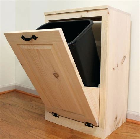 Woodworking-Plans-Double-Pull-Out-Recycling-Cabinet