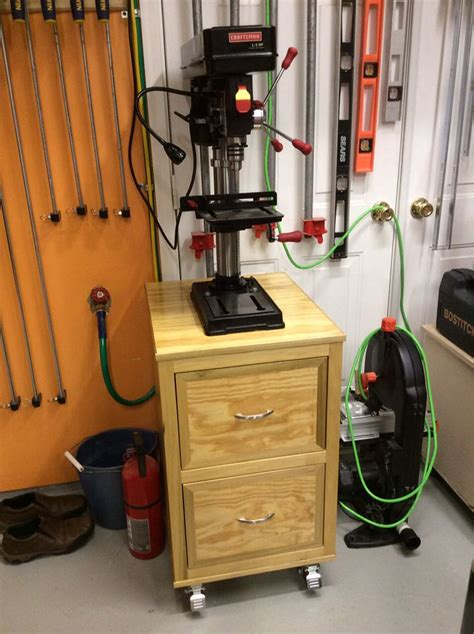 Woodworking-Plans-Drill-Press-Stand